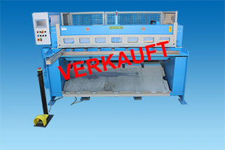 used Motorized Guillotine Plate Shear ETS 200